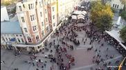 Най - дългото хоро в Пловдив - 10.10.14г. Moveweek Plovdiv