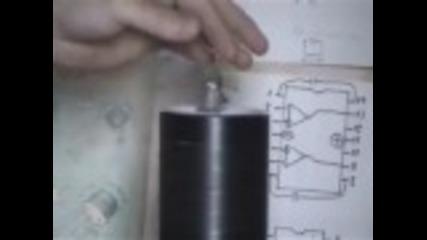 Опыты с трансформатором Тесла