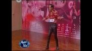 """Music Idol 3 - Мъжът с """"холивудската усмивка"""" *много смях*"""