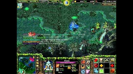 Warcraft 3 Gameplay With Capone