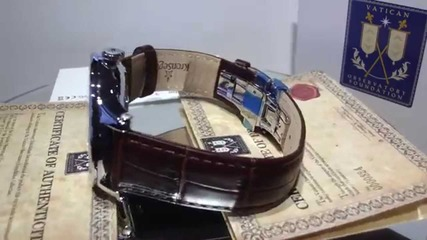 часовник Kronsegler Sacristan -сертификат на Ватикана