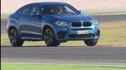 2015 Bmw X6 M (575 hp) on racetrack