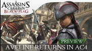 Assassin's Creed 4 Black Flag Aveline Returns! ( Exclusively For Ps3 & Ps4 )
