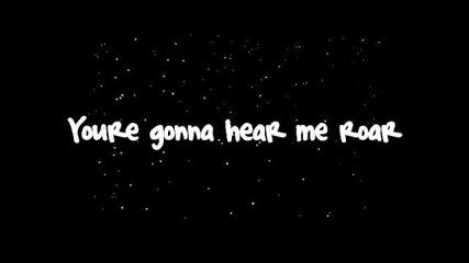 Katy Perry - Roar (lyrics) 2013