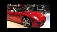 At Paris the Sa Aperta and the Ferrari California featuring the Hele system