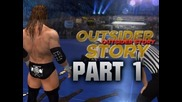 Wwe 12 - Road to Wrestlemania - Outsider ft. Triple H - Part 1 (wwe 12 Hd)