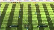 Fifa 11 Online - Барселона vs Челси