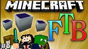 """Minecraft: Feed the Beast #8 """"pipes & Solar Panels"""""""