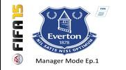 Трансфери и първи мач |everton Manager Mode| Ep.1