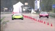 Ferrari F430 vs Lamborghini Lp 670-4 Sv