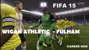 Fifa 15 Wigan Athletic - Fulham /career mod Ful/