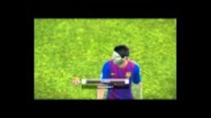 Pro Evolution Soccer 2012 - Fc Barcelona vs Arsenal - full game - Hd (720p)
