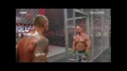 John Cena vs. Chris Jericho, Big Show & Randy Orton