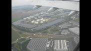 Air France a330 landing at Paris airport