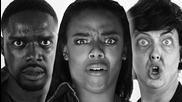 "Rihanna And Kanye West And Paul Mccartney - ""fourfiveseconds"" Parody/породия"