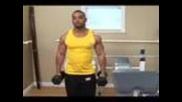Bodybuilding Exercises : Bodybuilding: Biceps Dumbbell Curls