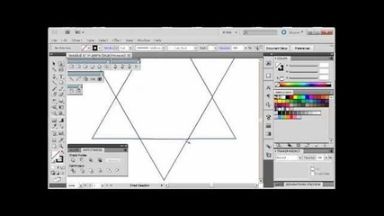 Adobe Illustrator Cs5 Tutorial 10 | Israeli Star