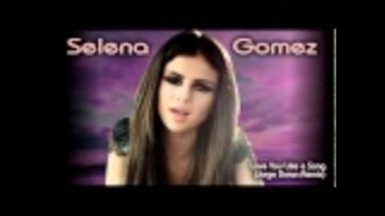 Selena Gomez - Love You Like a Love Song (jorge Duran Remix)
