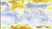 Глобално затопляне за 131 години