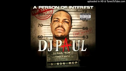 Dj Paul Person of Interest - Brand New