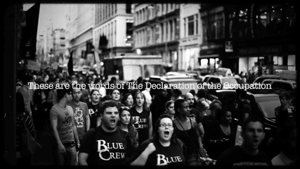 We Are the 99% (as we gather together)