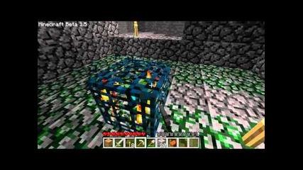 Minecraft 1.5 Surviving ep4: Dungeon!!!!