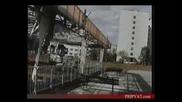 Разрушенный реактор и эвакуация из Припяти