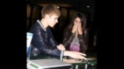 Justin Bieber and Selena Gomez (pictures)