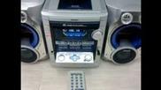 Micro System Aiwa Nsx Sz 809 - 340 Watts Rms
