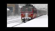 Vlaka Sofia - Burgas pristiga na gara Plovdiv 13.xii.2010