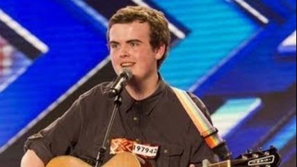 Curtis Golden's Учуди публиката и журито в The X Factor Uk 2012