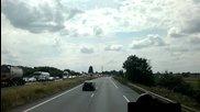 Лекинко Задръстване Към Белгия - Small traffic jam to Belgium