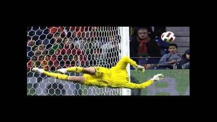 Anders Lindegaard best saves manchester united new keeper 2011