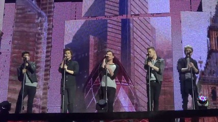 One Direction- Morning After Video & C'mon C'mon- London- April 5, 2013