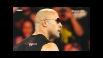 The Rock returns to Wwe Raw - 2-14-2011 (part 1)