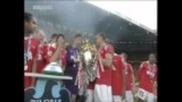 Man United Lift Their 19th League Title