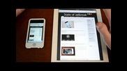 ipad 2 vs ipod touch 4g Speed Test