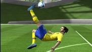 Fifa 13 | Ibrahimovic Overhead Bicycle Kick Tutorial