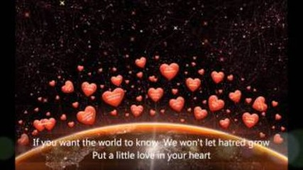 Put A Little Love in Your Heart (lyrics)