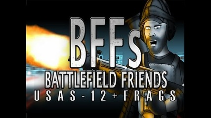 Battlefield Friends - Usas-12+frags