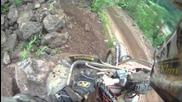Erzberg Enduro Rodeo Helmet Cam - Best of Mike Sigety - Drift Hd170 2011 Prolouge Hills Start Cliffs