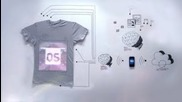 tshirtos The world's first programmable t-shirt
