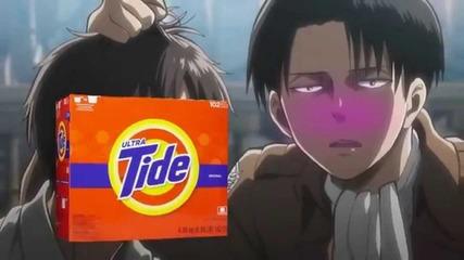 Пародия на Attack on Titan (shingeki no Kyojin)
