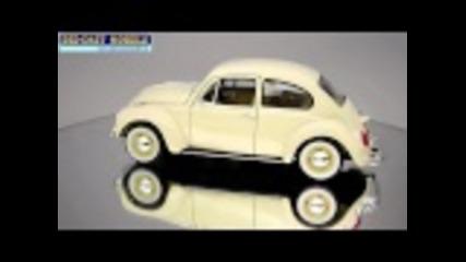 Volkswagen Beetle Vintage - Welly - 1:24