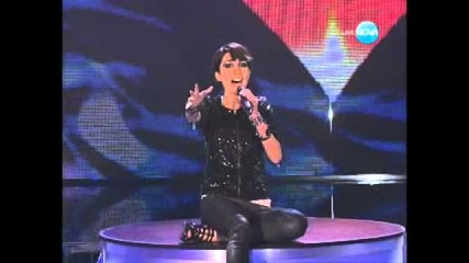 Stela Petrova - The X factor Bulgaria 2011 - Live Show 04.10.2011
