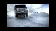 Мерцедес G-клас - Каране по снега