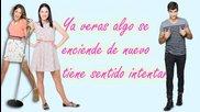 Violetta Algo se enciende-letra