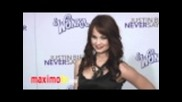 "Debby Ryan at the premiere of "" Never Say Never "" in Los Angeles ( L.a )"