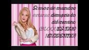 Violetta y Ludmila - Si es por Amor-letra