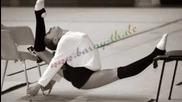 Rhytmic gymnastics training